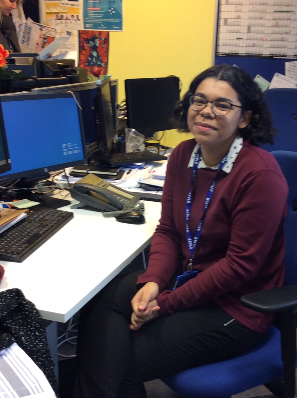 Sasha, WAES apprentice and curriculum administrator